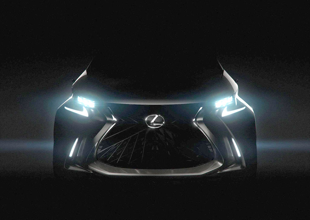 Lexus LF-SA Brightened Up