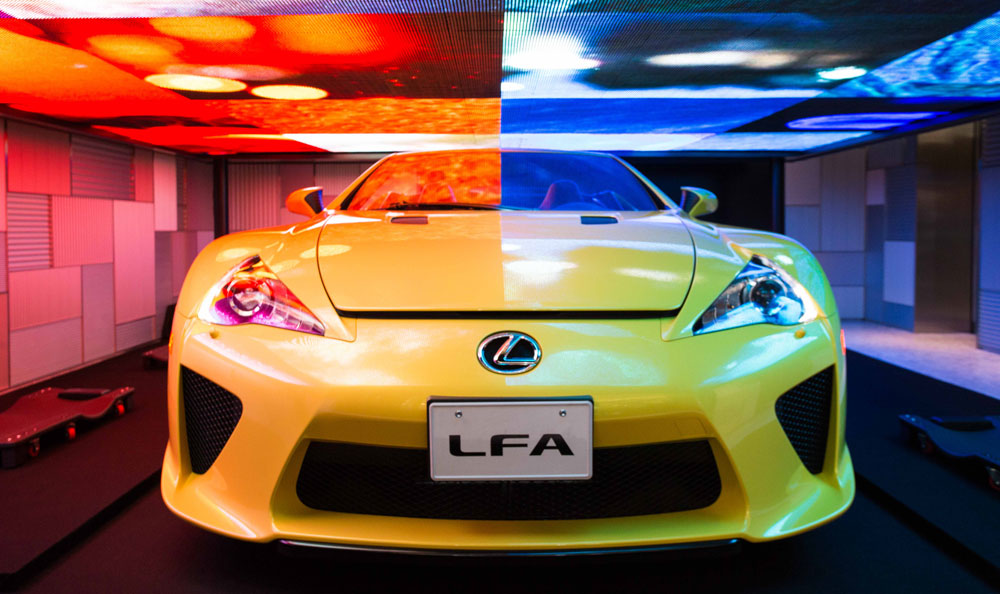 Lexus LFA Roadster Media Ambition
