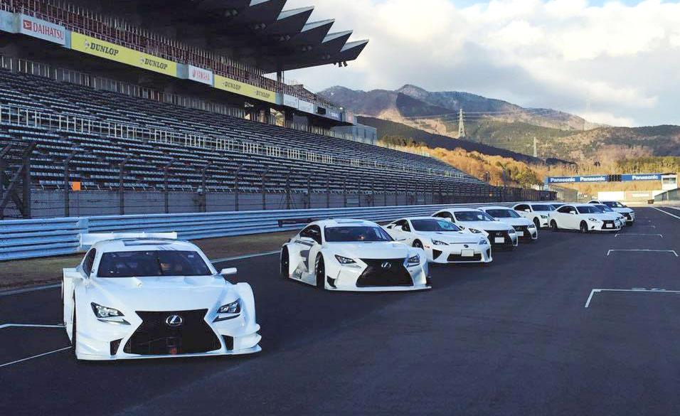 Lexus F Brand Commercial