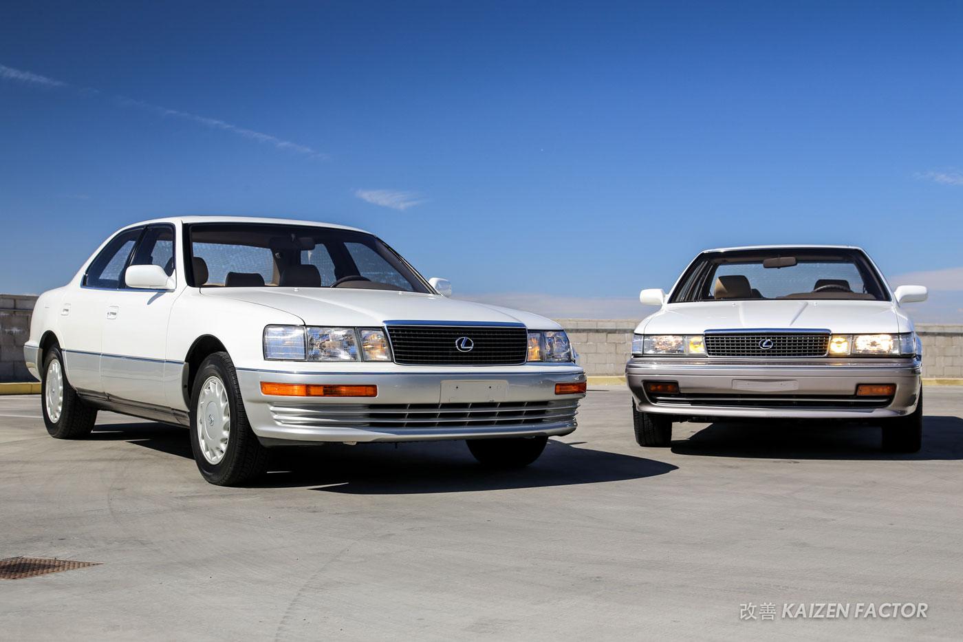 Photo: Lexus LS 400 & ES 250 Together Again | Lexus Enthusiast