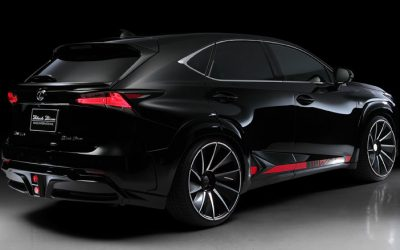 wald international releases black bison kit for lexus nx f