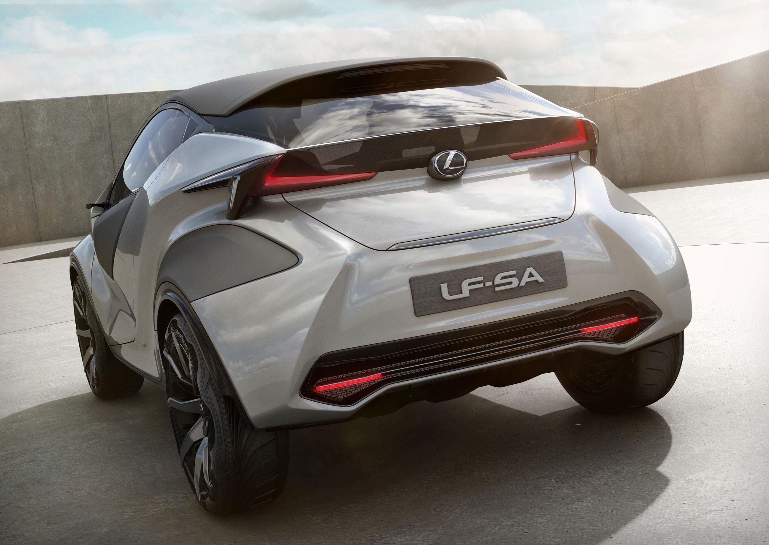 Lexus LF-SA Rear
