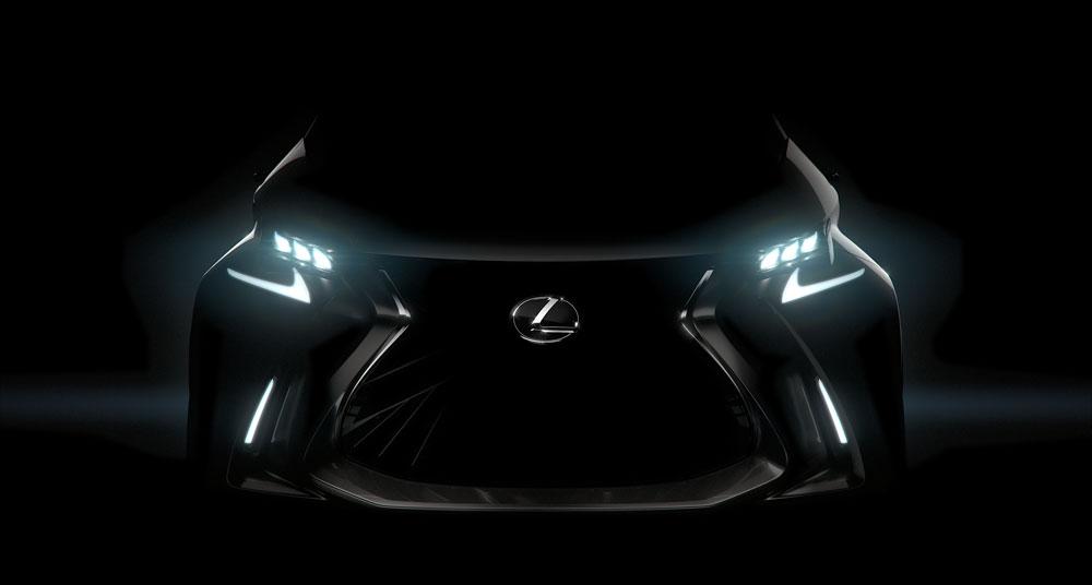 Lexus LF-SA Livestream