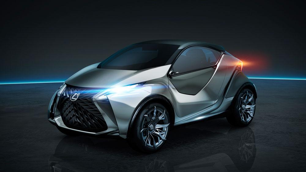 Lexus LF-SA Concept Front