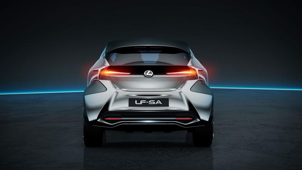 Lexus LF-SA Exterior Rear