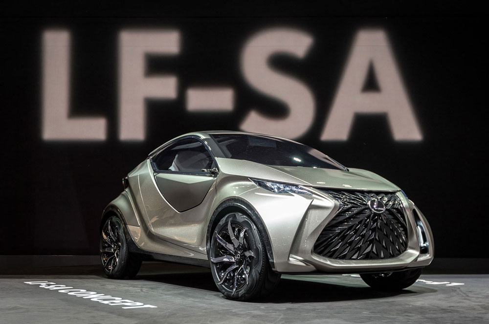 Lexus LF-SA Live Photos
