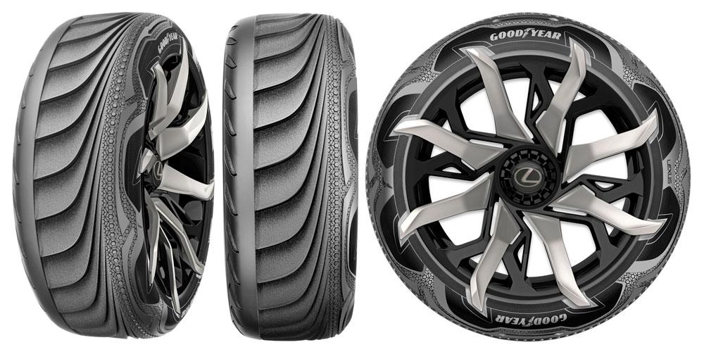 Lexus LF-SA Goodyear Tires
