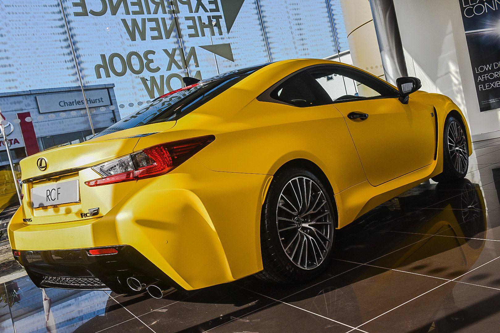 Lexus Ls 500 >> Photo Gallery: Lexus RC F in Matte Yellow   Lexus Enthusiast