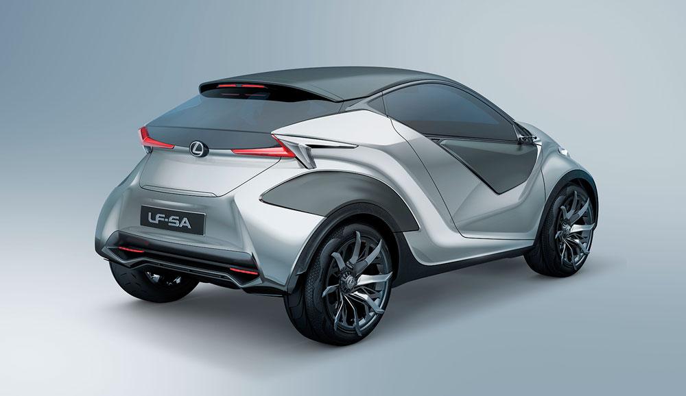 Lexus LF-SA Details