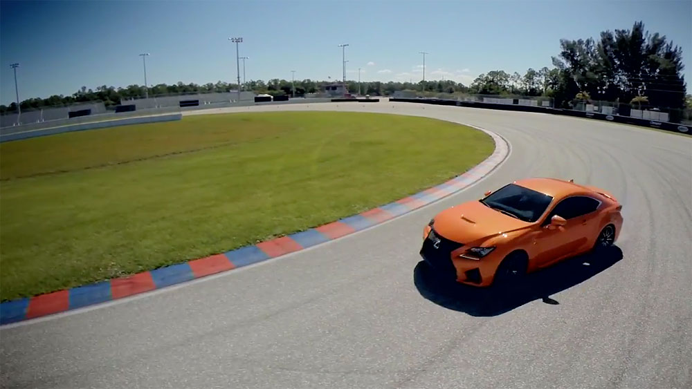 Lexus RC F Shut up and Drive