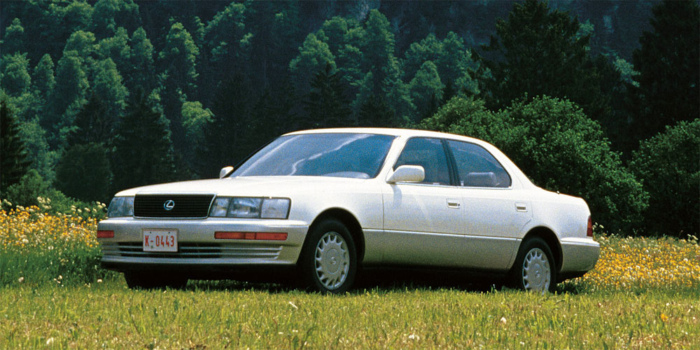 Hereu0027s One For The History Books U2014 For The 1989 Global Press Launch Of The  Original LS 400, Lexus Made The Bold Move Of Bringing Automotive  Journalists To ...