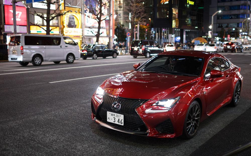 Lexus RC F Speedhunters Tokyo