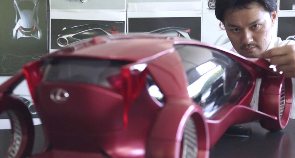 Lexus IS Designer Hideaki Iida