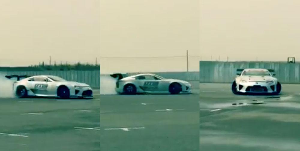 Lexus LFA Drifting