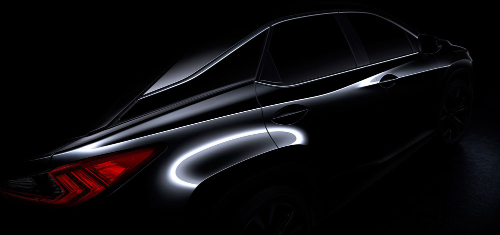 Lexus RX Next-Generation Teaser