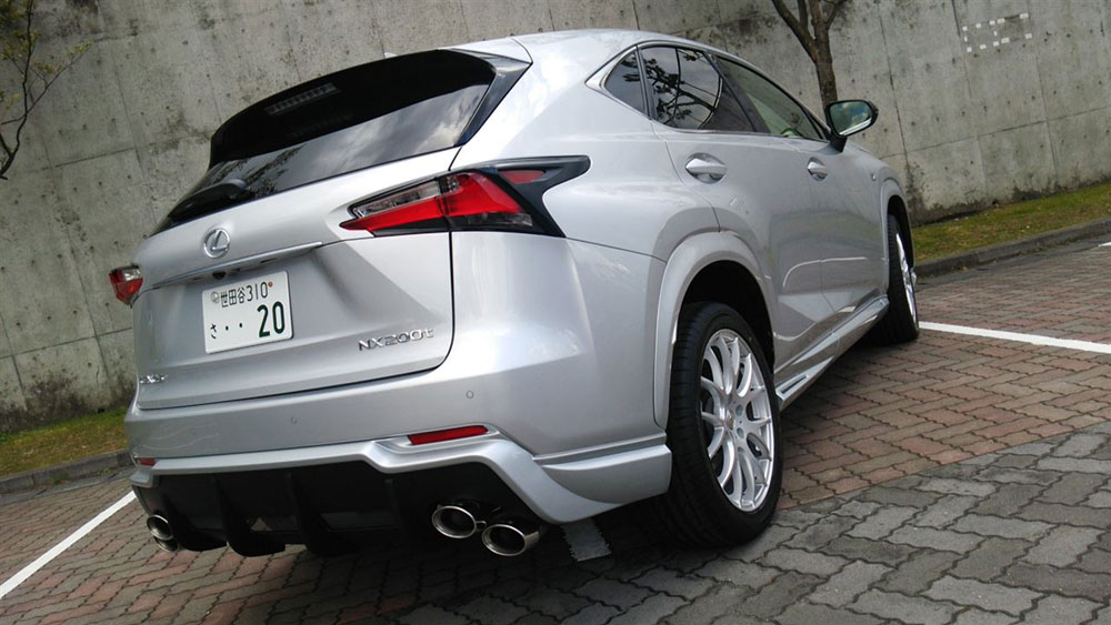 Lexus NX Body Kit TOM's Rear