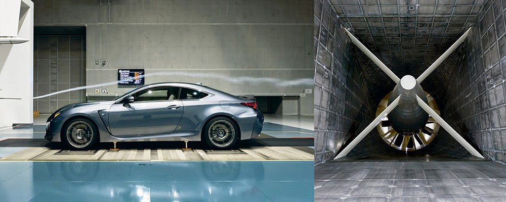 Lexus Wind Tunnel
