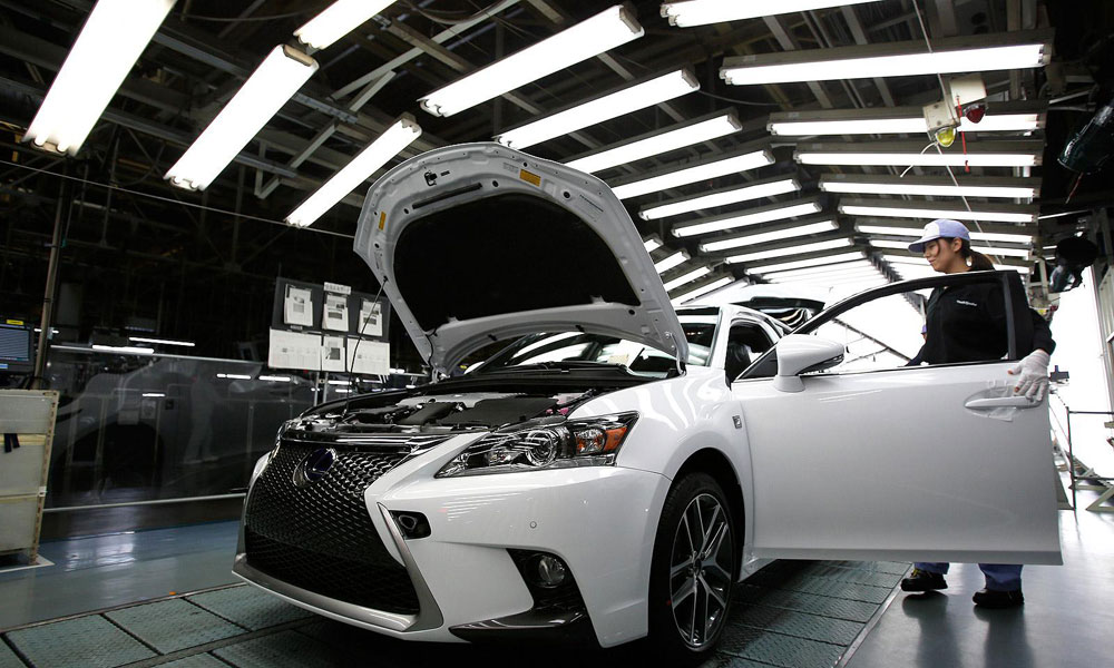 Lexus CT Manufacturing Process