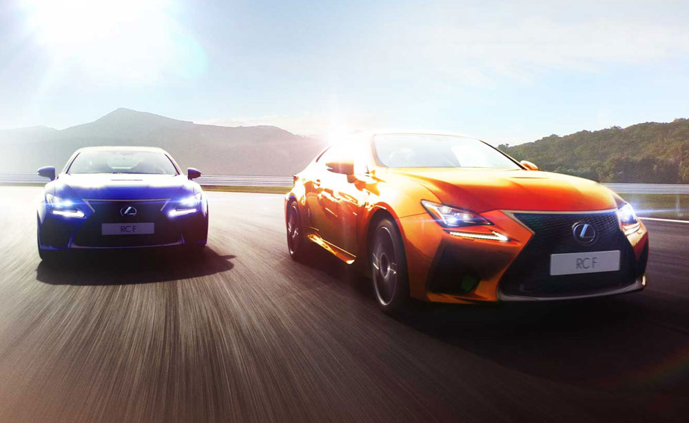Lexus RC F App Europe