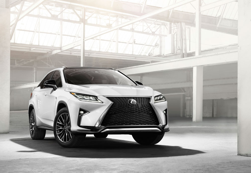 Lexus RX 2016 Press Release