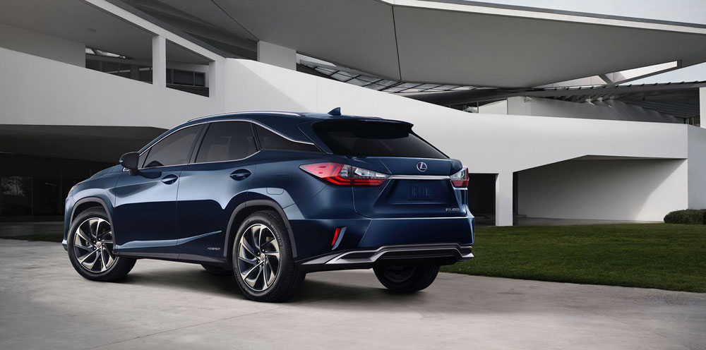 Lexus RX 450h Rear Gallery