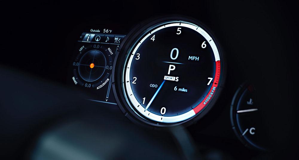 Lexus RX F SPORT Gauge