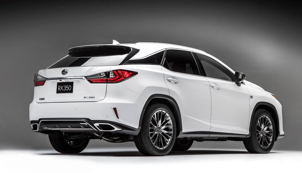 Lexus RX Rear Side