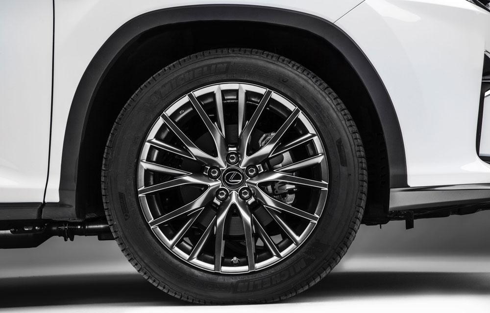 Lexus RX Michelin Premier Tires