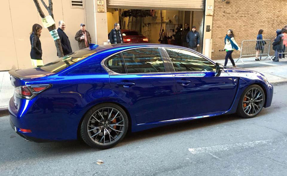 Lexus GS F in the Wild