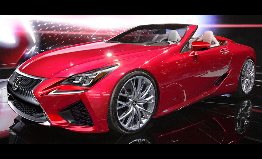 Lexus SC Car and Driver Rendering
