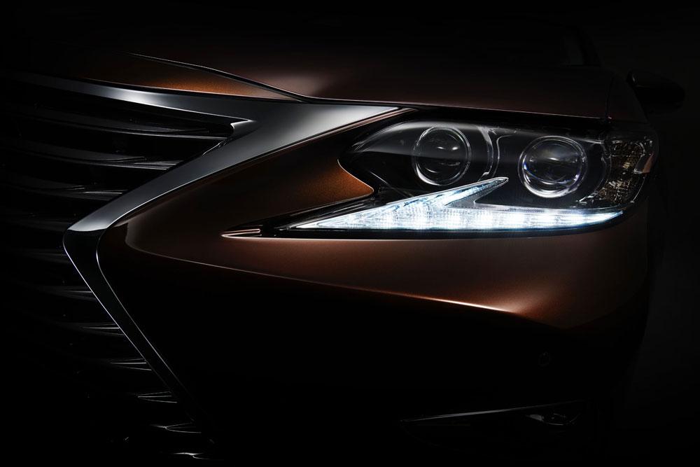Lexus ES Teaser Image Full