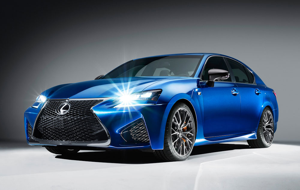 Lexus GS F Car & Driver
