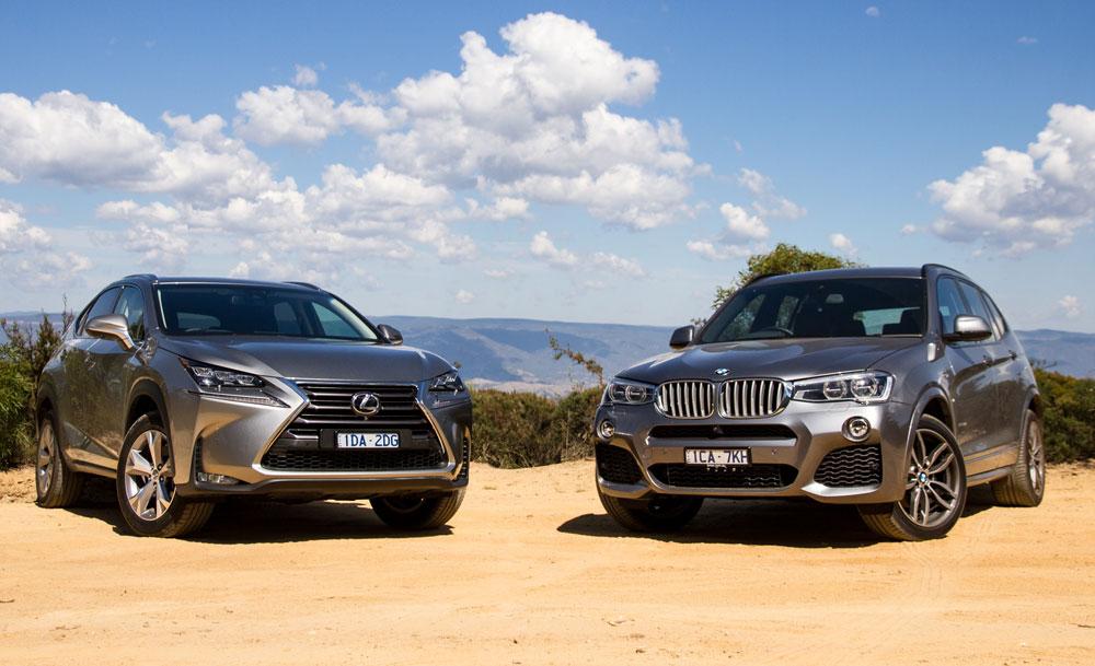 Lexus NX 200t F SPORT vs BMW X3 xDrive28i