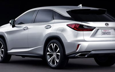 Lexus Asia Has Posted Images Of The New Rx In Silver It S Also Our First Look At 350 Standard Trim