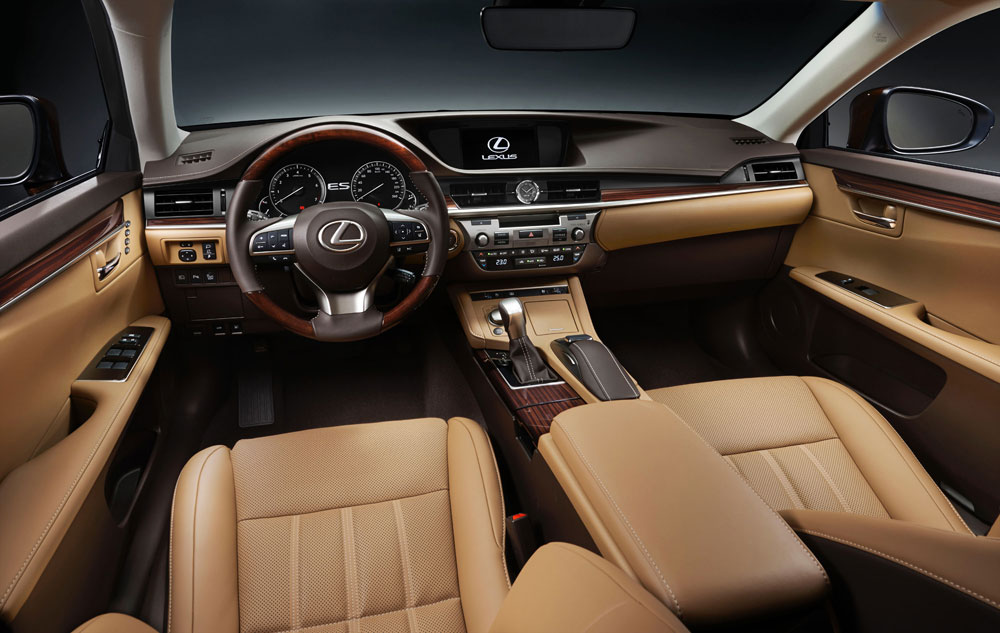 Lexus ES Interior Second Color