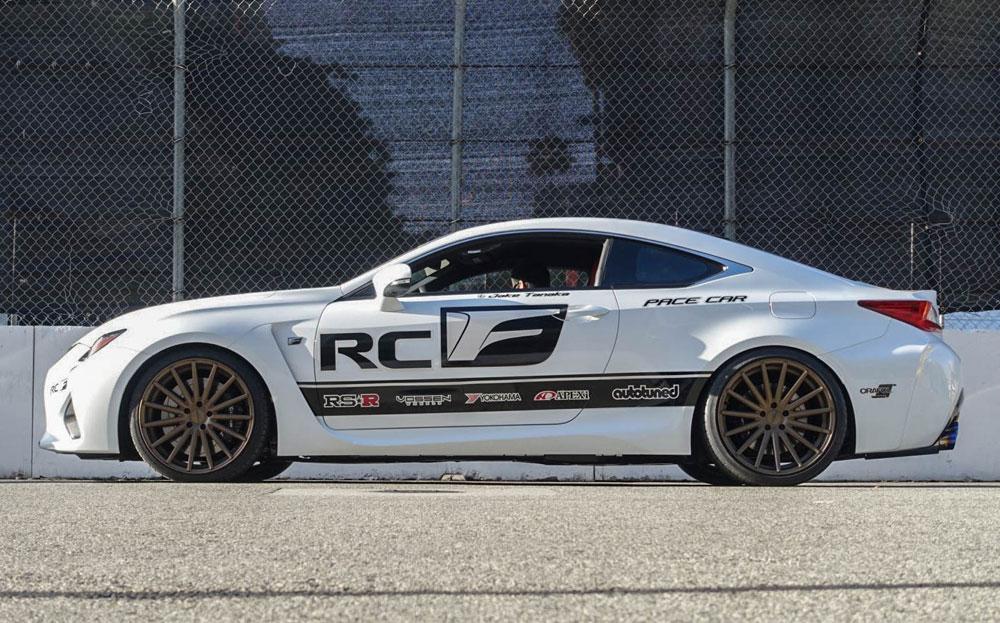 Lexus RC F Pace Car Long Beach