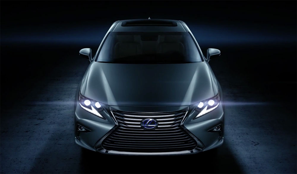 Lexus ES 2016 Launch Video