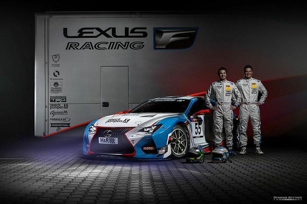 Lexus RC F Dominic Mario Farnbacher