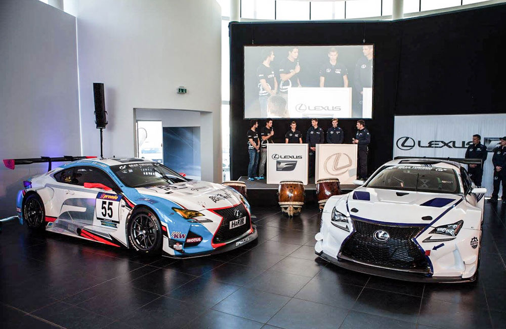 Lexus RC F GT3 Teams