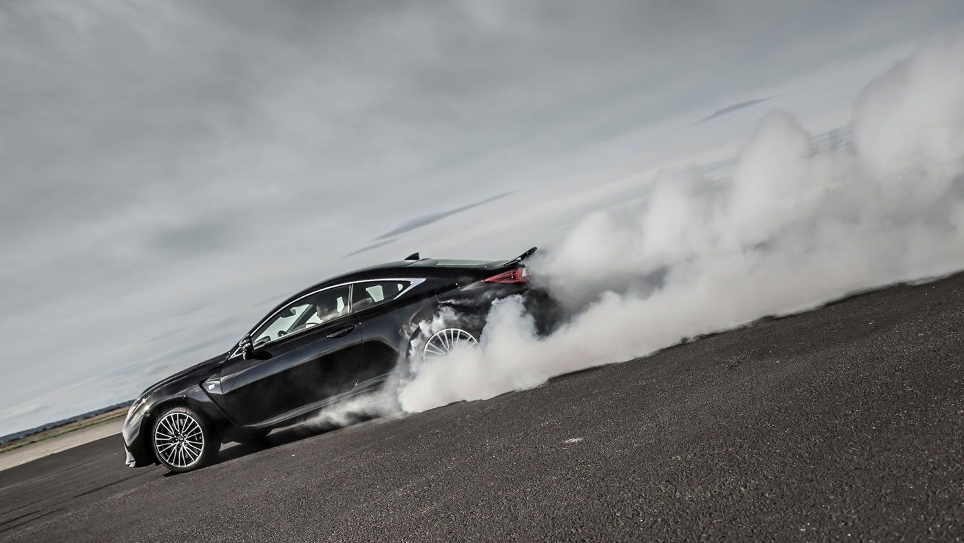 2015 Lexus Isf >> Photo: Burning Rubber Lexus RC F Style | Lexus Enthusiast