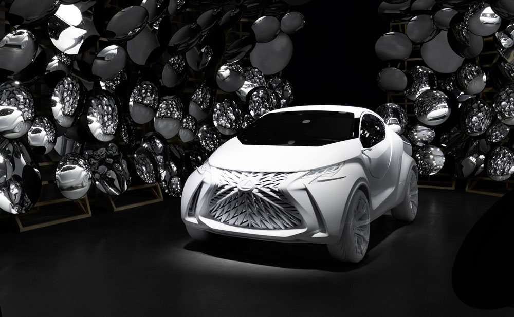 Lexus LF-SA Milan Design Week