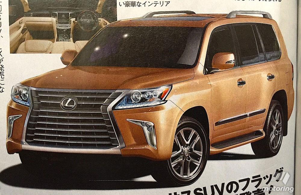 Lexus LX 2016 Update