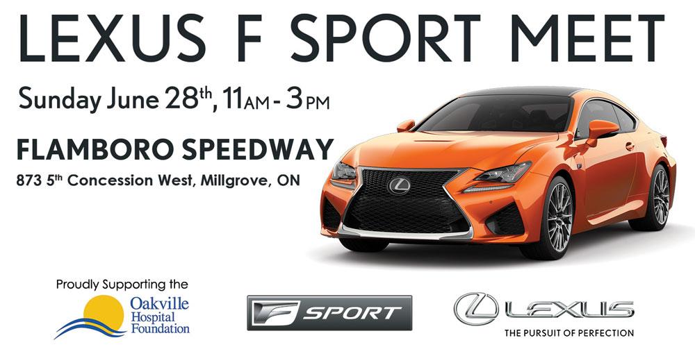 Lexus F SPORT Meet Toronto