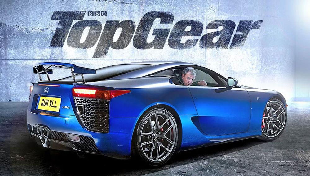 Lexus LFA Jeremy Clarkson