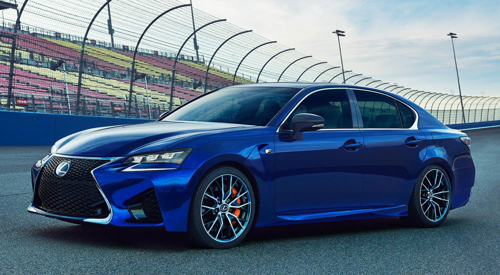 Lexus GS F Driving Goodwood