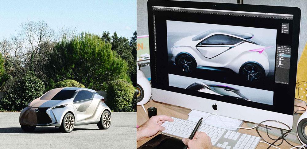 Lexus LF-SA ED2 Design Studio