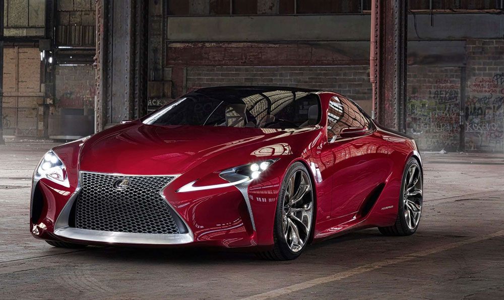 Lexus LF-LC Rumors