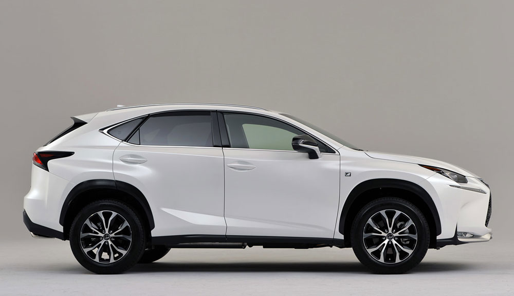 Lexus NX Side Profile