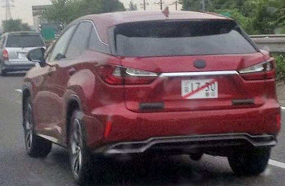 Lexus RX 2016 Red