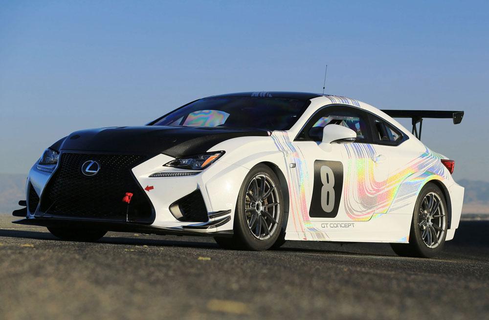 Lexus RC F GT Concept Pikes Peak